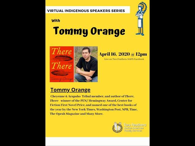 Author Tommy Orange of