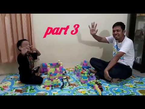 Perang Lego || Adu Tangguh Benteng Dari Lego Block Part 3