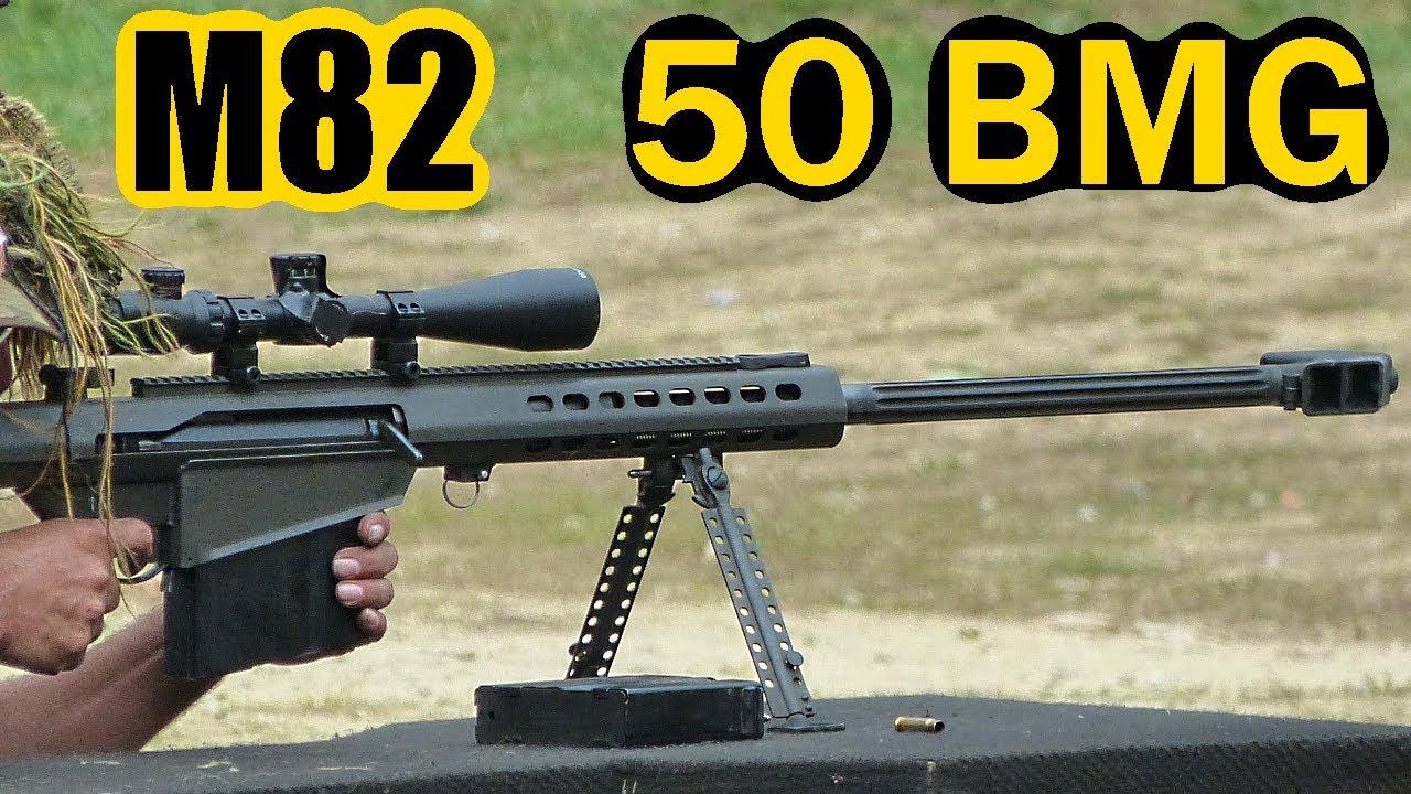 barrett m82 shooting 50 cal w slow motion youtube