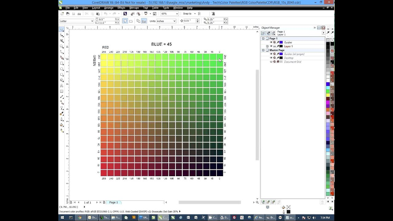 Sublimation Tips How To Use The Rgb Spot Color Charts With