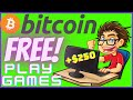 FREE BITCOIN 2020  Playing Games and Earn Bitcoin  100% ...