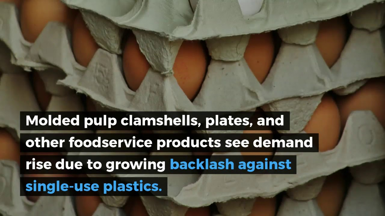 Molded Pulp Packaging - YouTube