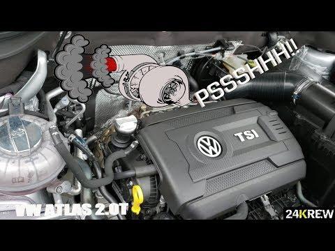 VW ATLAS 2.0T BOV SOUND!!!
