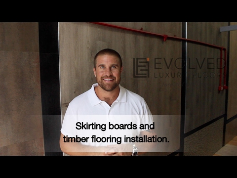 Do you need Skirting boards on or off when installing timber flooring?