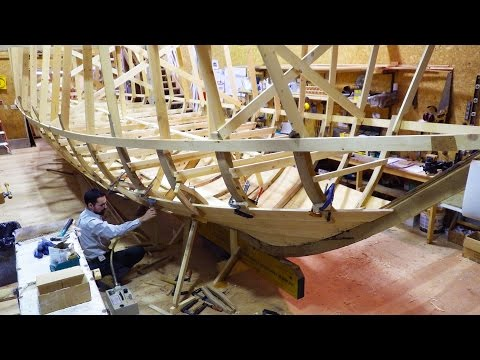 From Stem to Stern: Building a York Boat in Under 3 Minutes