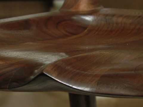 Build A Maloof Inspired Low Back Dining Chair with...
