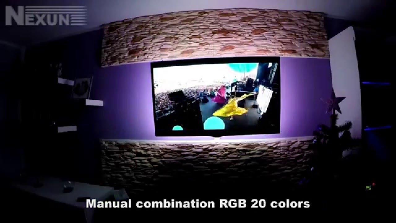Oświetlenie Led Tv 42 Taśma Led Rgb Od Nexunpl