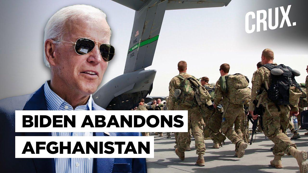 Afghanistan Not America's Problem' Says Biden, As US President Hastens Troop Withdrawal