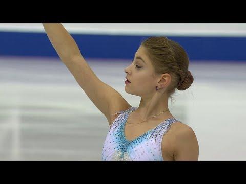 Алена Косторная выиграла короткую программу с мировым рекордом!