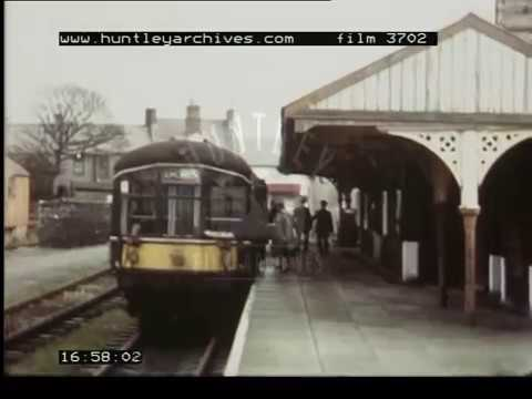 Train Journey Across North Wales, 1970's - Film 3702