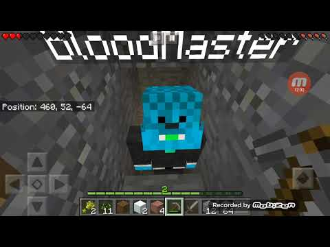 Minecraft praživljavanje epizoda 11=Drugi kat! 😀 i BloodMaster! 😀 1 dio