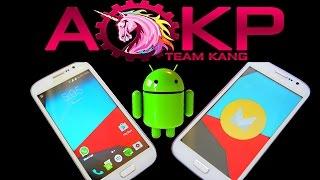 AOKP - How to Install a Custom ROM - Marshmallow - Galaxy Grand Duos