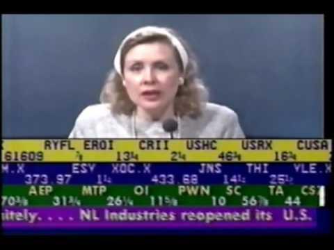Stock Market Observer footage (June 26, 1992)