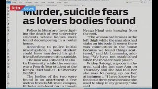 Murder, suicides fear as lovers bodies found | PRESS REVIEW