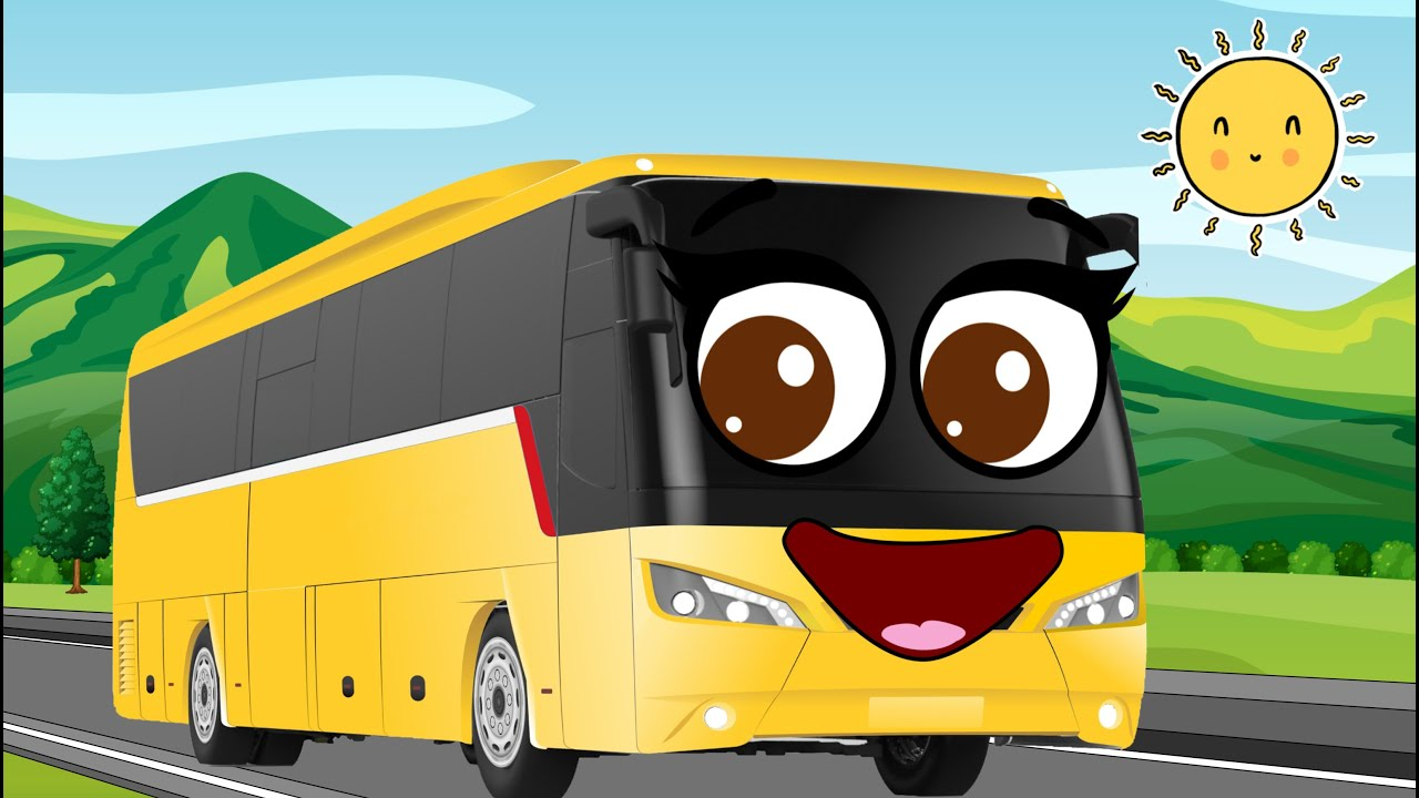 The Wheels on the Bus and more nursery rhymes and kids songs. Doodles ares singing and dancing.