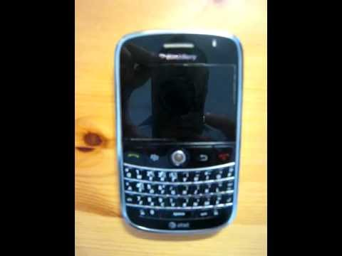 Dead BlackBerry Bold 9000 Blinking