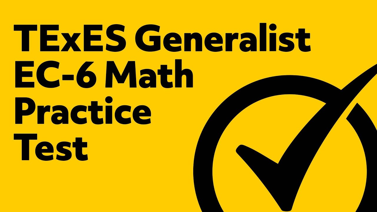 Passing the texes certification exam - Free Texes Core Subjects Ec 6 291 Math Practice Test