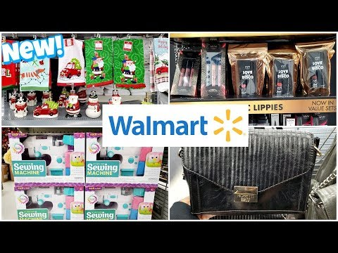 Walmart SHOPPING CHRISTMAS BATHROOM DECOR AND MORE * SHOP WITH ME 2019