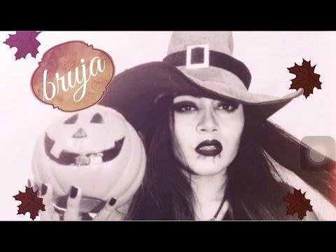 ➵MAQUILLAJE BÁSICO DE BRUJA ➵  (Halloween y día de muertos) Video
