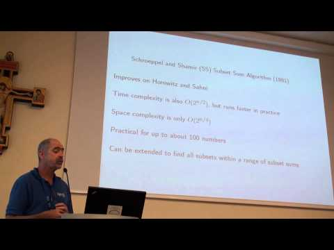 ICAPS 2013: Richard E. Korf - Optimally Scheduling Small Numbers of Identical Parallel Machines