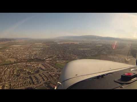 Palo Alto (KPAO) to Salinas (KSNS) in a Cessna 172