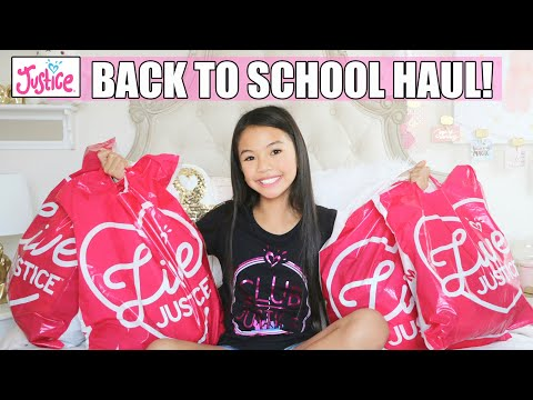 🐼JUSTICE 🐼 BACK TO SCHOOL HAUL!