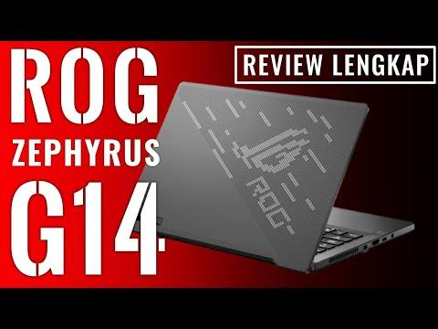 Laptop Pertama dengan AMD Ryzen 9 4900HS: Review ASUS ROG Zephyrus G14