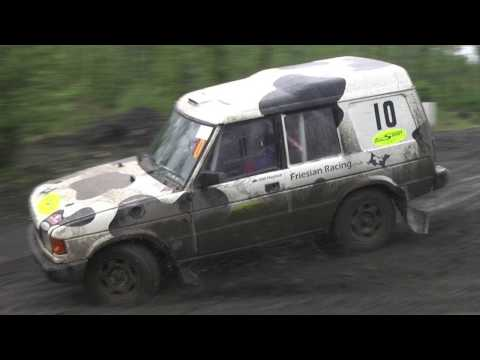In-car Land Rover Discovery - 2nd Overall AlliSport AWDC Hillrally 2016
