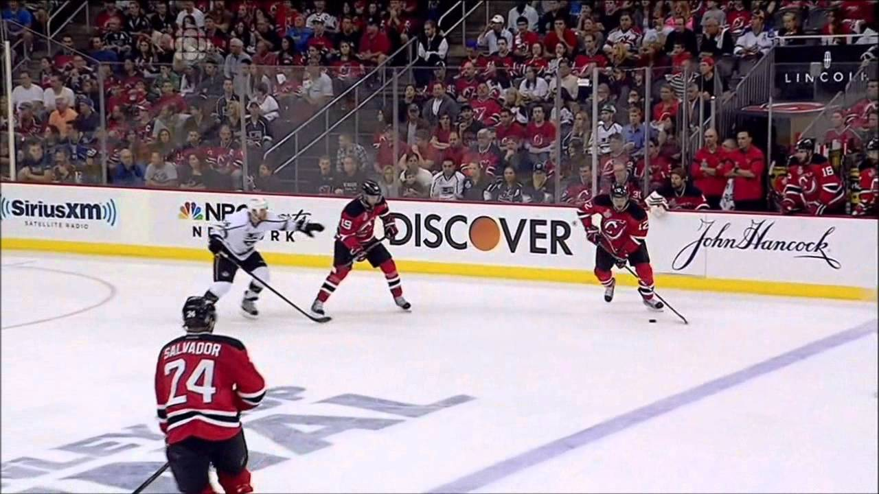 b08a8ab4d17 Bryce Salvador game winning goal! Game 5 Stanley Cup Finals Kings @ Devils