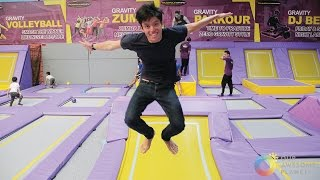 Trampoline Park Philippines: Flying Adventure! (Manila, Philippines)