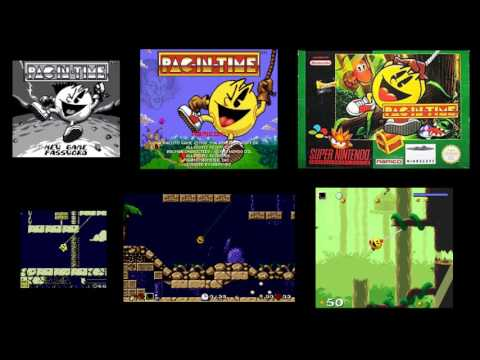 Pac In Time - Forgotten Palace / Level 1 (SNES / GB music mix)