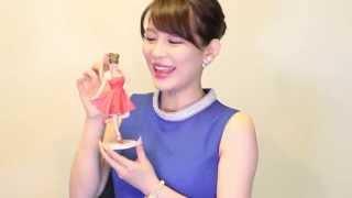 【美馬怜子フィギュア化】3Dプリント・フィギュア™ - 本人コメント 美馬怜子 検索動画 19