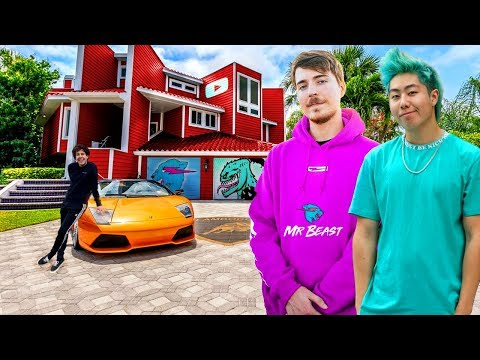 10 Rich YouTubers Who Are Richer Than We'll Ever Be (MrBeast, PewDiePie, ZHC, David Dobrik)