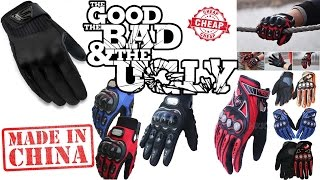 Best MotorBike GLOVES from CHINA!?!