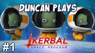 Kerbal Space Program - Part 1 - My First Space Rocket