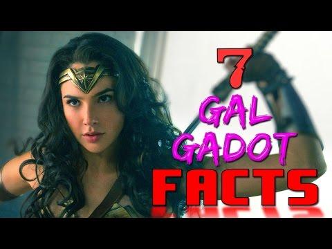 gal gadot facts wonder