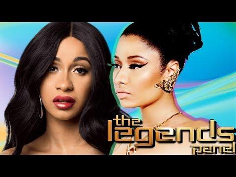 (PARODY) The Legends Panel: Presents |  Cardi B vs Nicki Minaj FT: Beyoncé, Remy Ma, and Iyanla