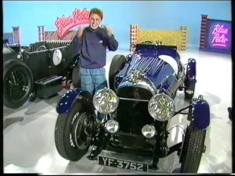 Stanley Mann features on Blue Peter, 1988