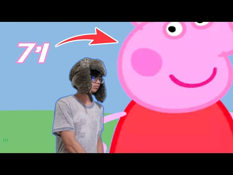 peppa pig height