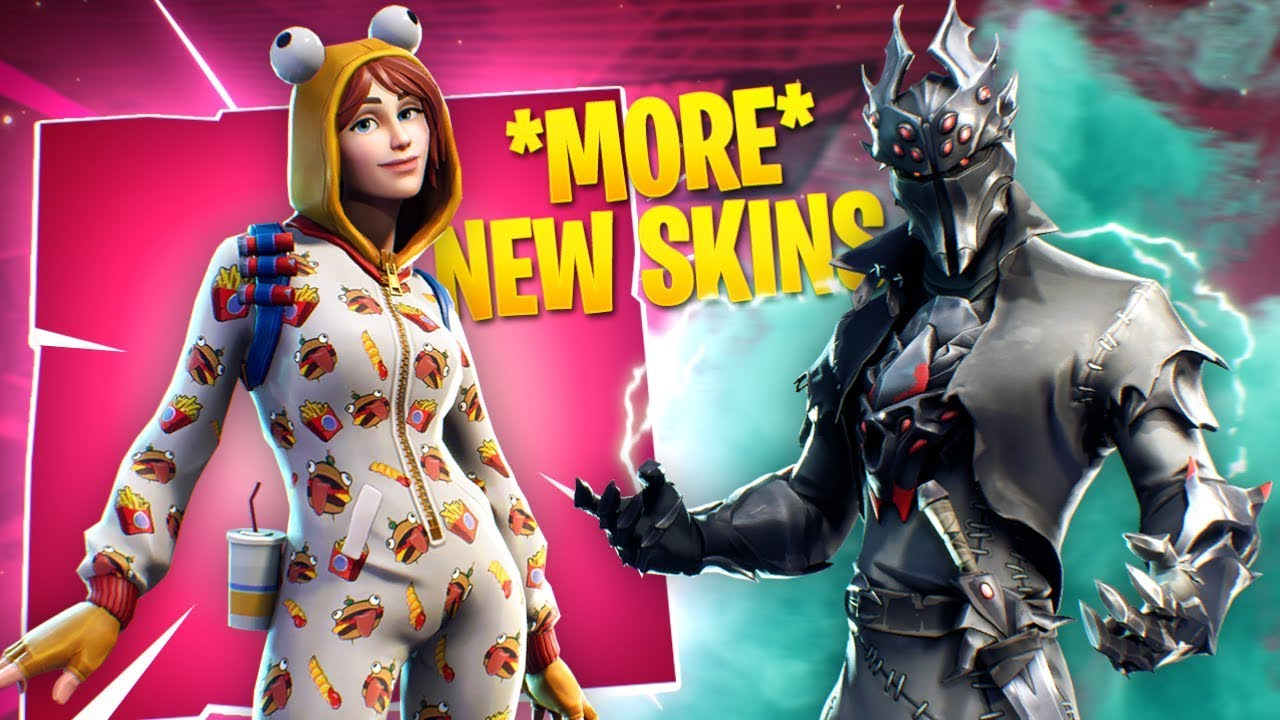 The New Black Knight Durr Burger Onesie And More Fortnite Skins