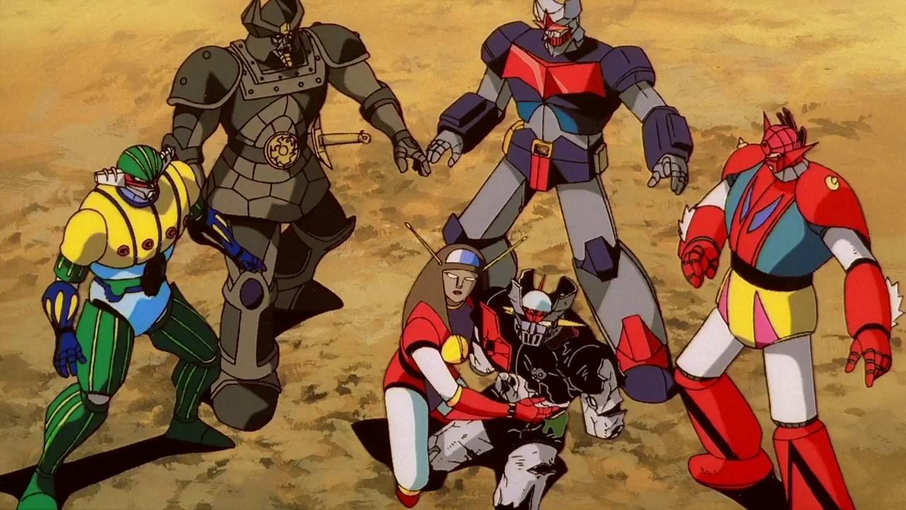 Mazinger Z Go Nagai Dynamic Super Battle Robots Vocal HD