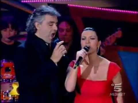 Andrea Bocelli  Laura Pausini   Dare To  Viverempg