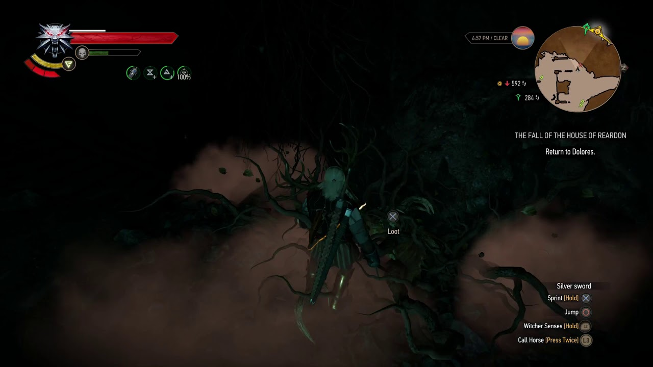 The Witcher 3: Wild Hunt – Leshen in Dragonslayer's Grotto