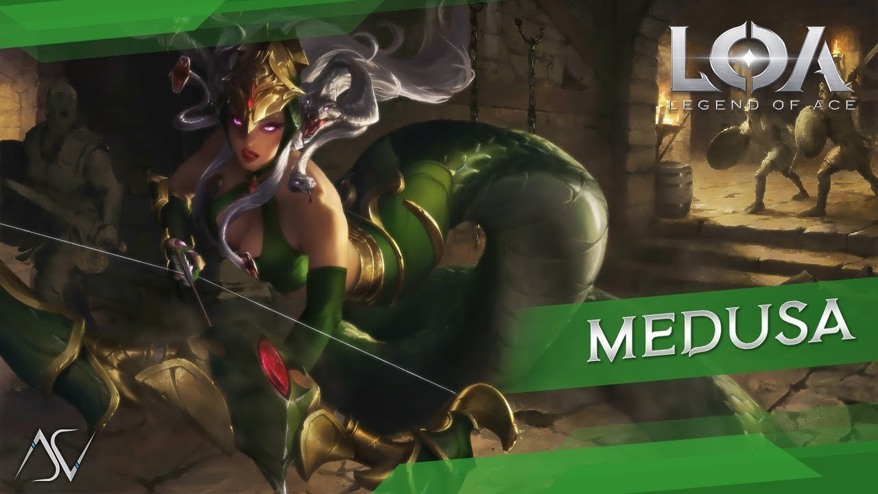 Legend of Ace (Android/iOS) - Medusa Gameplay!