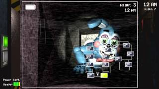 New Bonnie Gameplay Pictures!-Five Nights At Freddy