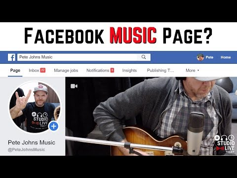 How To Create A Facebook Music Page
