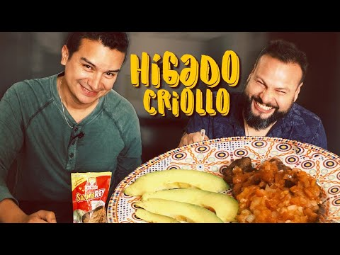 Recetas: Hígado Criollo