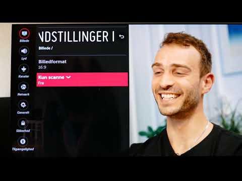 LG TV indstillinger guide Danish
