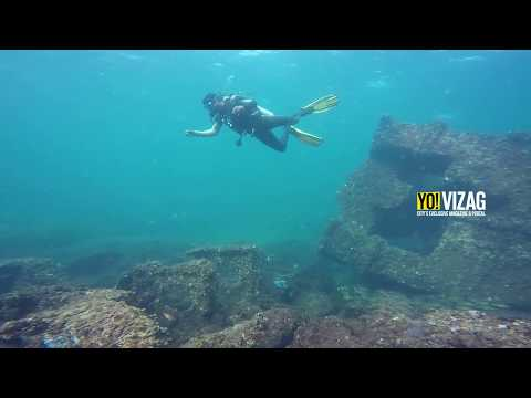 A must watch video : Shipwreck discovered in Vizag shot on GoPro