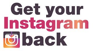 Activate Instagram back security code PROBLEM solved 2019